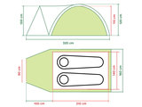Coleman tent Darwin 2+_