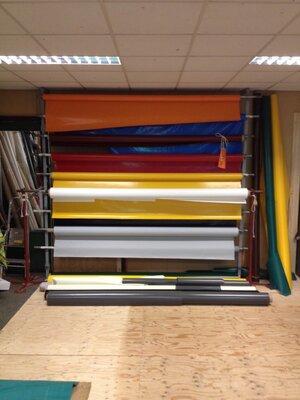 PVC doek: 630 gram per m2