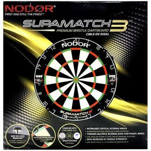 Combideal! Dartbord Supamatch 3 + Harrows Blaze